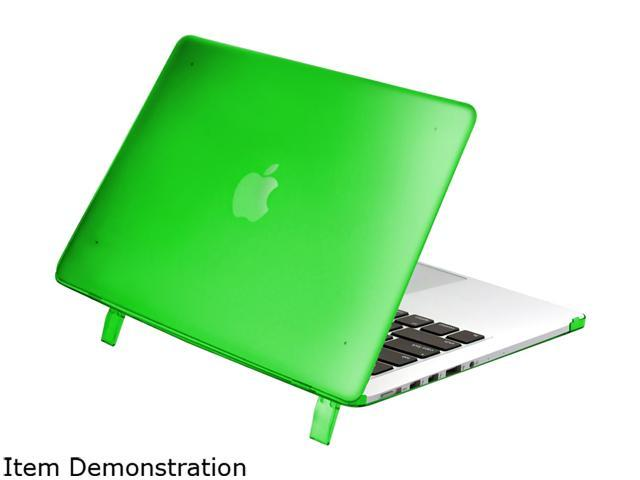 INSTEN Green Rubber Silicone Soft Skin Gel Case For Apple Macbook Pro with Retina Model 1991125