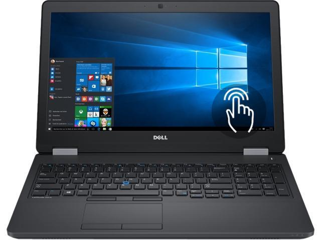 Dell Latitude E5570 Intel Core i7-6600U X2 2.6GHz 8GB 256GB SSD 15.6