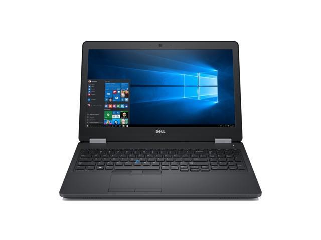 Dell Latitude E5570 Intel Core i7-6820HQ X4 2.7GHz 8GB 256GB SSD,Black(Certified Refurbished)