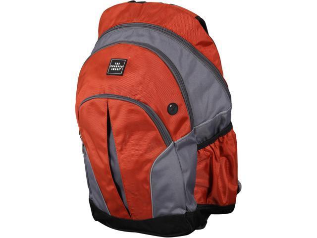 Sharper Image Orange Airtek Back Pack Model ACSHTSI-5020OR, Grade A, like new condition