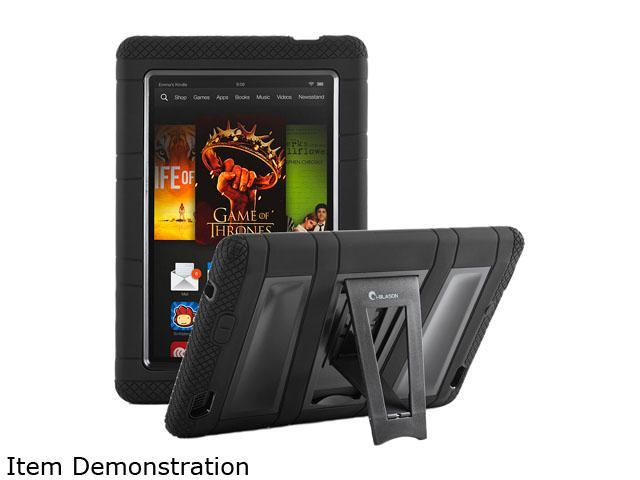 i-Blason Black Full-Body Protection KickStand Case Black Model KindleHD2013-ABH-Black
