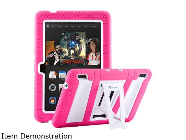 i-Blason Pink/White Full-Body Protection KickStand Case Model KindleHDX7-ABH-PinkWhite