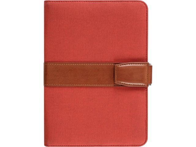 Aluratek Red Universal Folio Travel Case for 7 inch Tablets Model AUTC07FR