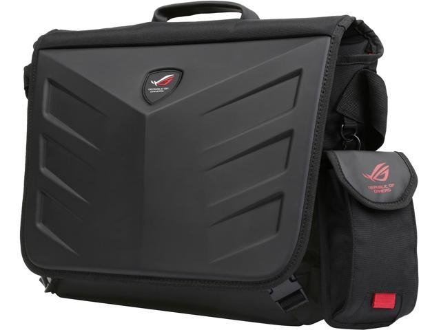 A messenger bag to keep you on-the-go. Designed especially for gamers, the ROG Ranger Messenger Bag is a durable and lightweight messenger bag for your 15.6-inch laptop and other accessories.