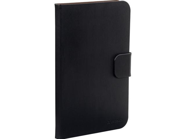 VERBATIM Black Folio Case for Samsung Galaxy Tab 2 7.0 Model 98187