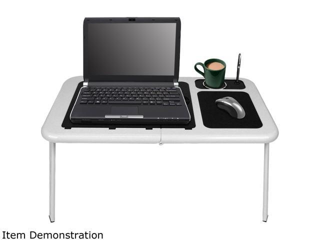 Northwest Portable Work Station Table w/ Fan - white 75-LD09