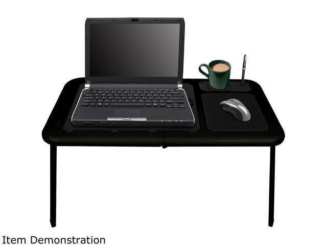 Northwest Portable Work Station Table w/ Fan - All Black 75-LD09B