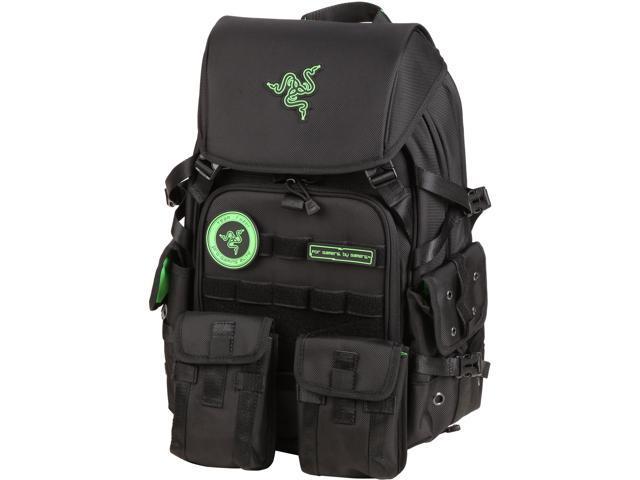 Mobile Edge Black Razer Tactical Gaming Backpack Model RAZERBP17