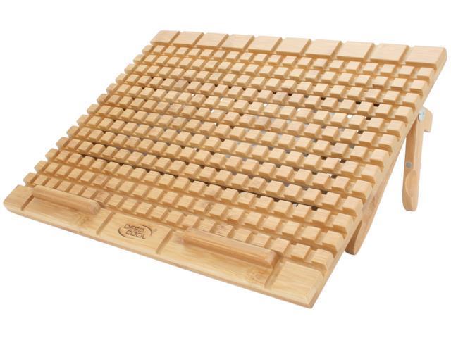 Logisys Computer Bamboo Laptop Cooling Pad NP2600