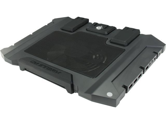 CM Storm SF-15 - Gaming Laptop Cooling Pad with 160 mm Fan and Retractable Feet