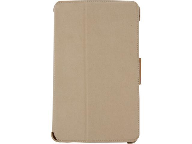 macally Leather Case & Stand Nexus7 - White BStandX7W