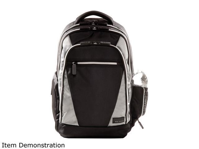 Eco Style Platinum/Black Sports Voyage Backpack for 17.3