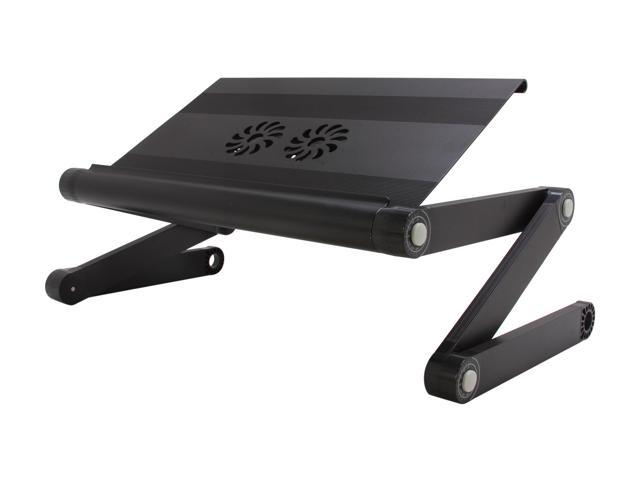 Rosewill Aluminum Multi-Functional Lapdesk with Dual 80mm cooling Fan RMND-11001