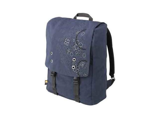 """Case Logic Blue Canvas Backpack for 15.4"""" Laptops Model SNB-15Blue"""
