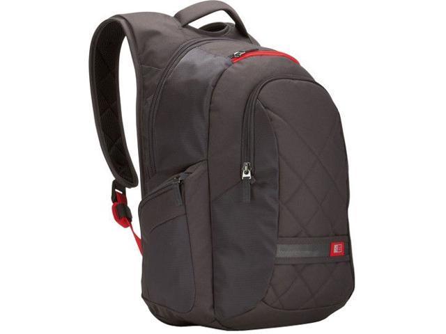 "Case Logic Dark Gray 16"" Laptop Backpack Model DLBP-116-DARK GRAY"