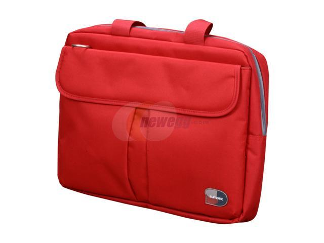 """SUMDEX Red Passage 16"""" Notebook Brief Model PON-315RD"""