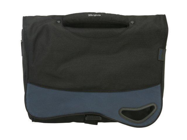 """Targus Black/Blue 15.4"""" Embolden Messenger Laptop Case Model TSM051US"""