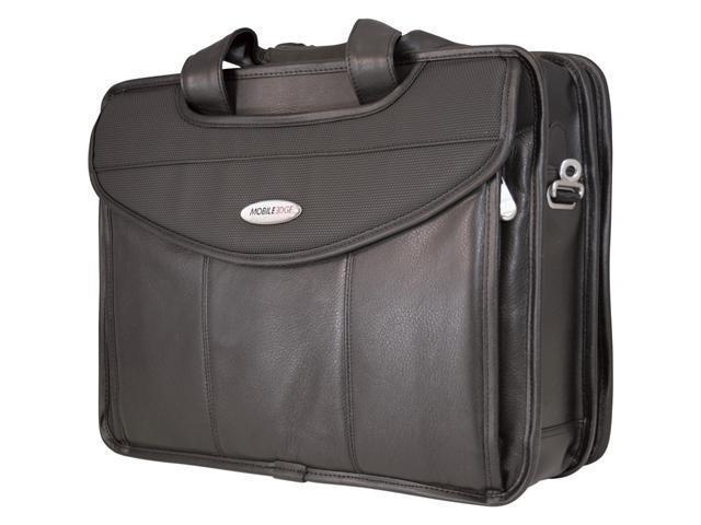 "Mobile Edge Black 15.4"" Premium V-Load Briefcase Model MEVLLP"