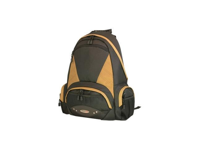 Mobile Edge Gold Academic Backpack- Fits computers up to 17