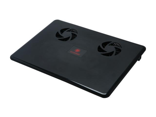 COOLMAX 2 Fans Laptop Cooler NB-430-BLACK