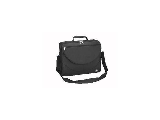 "SUMDEX Black 17"" Large Expandable Computer Brief Case Model PON-303BK"