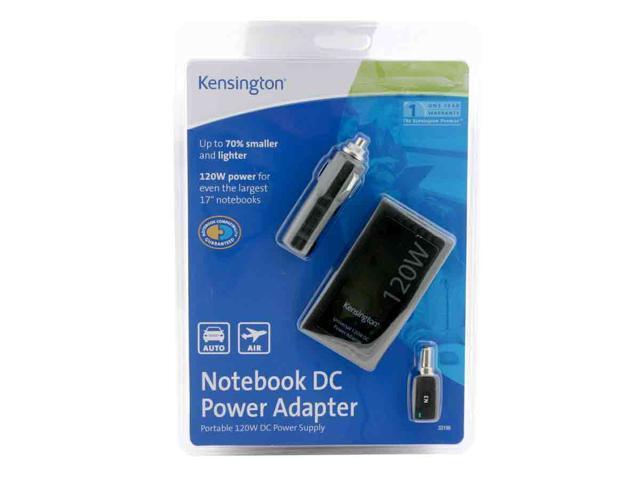 Kensington 33196 120 Watt Notebook DC Power Adapter
