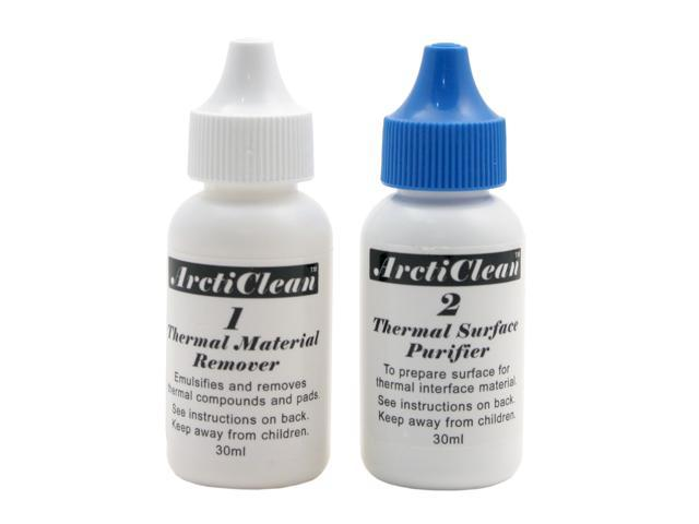Arctic Silver Arcticlean Thermal material Remover & Surface Purifier ACN-60ML (2-PC-SET) - OEM