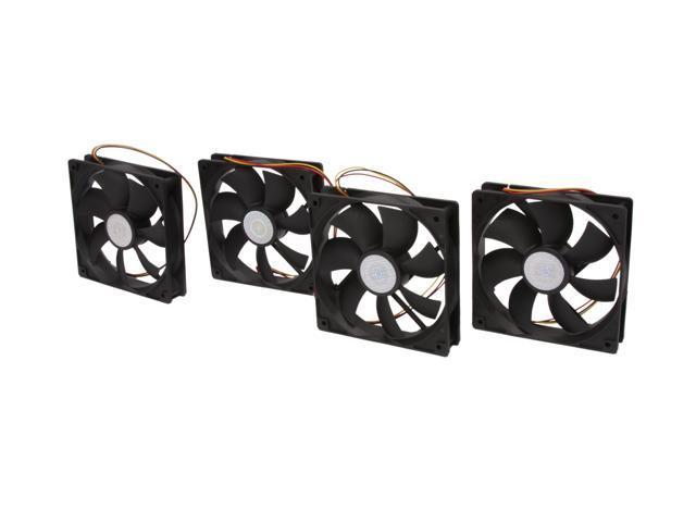 4-Pack Cooler Master 120mm Silent Case Fan