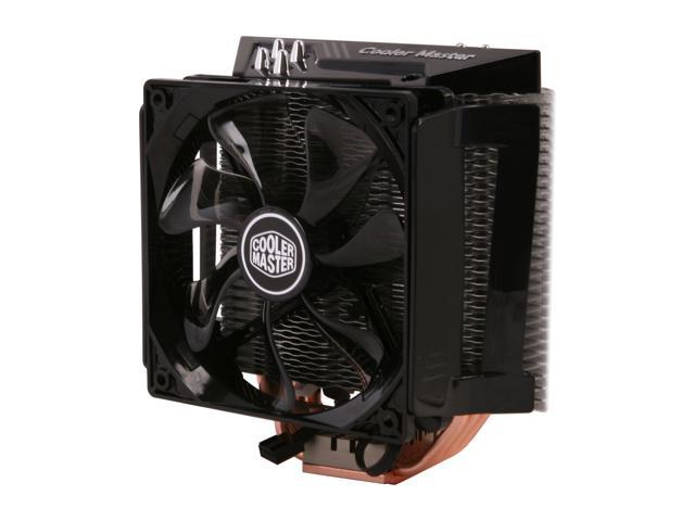 COOLER MASTER X6 Elite RR-X6NN-18PK-R1 Honeycomb Design 120mm Long Life Sleeve CPU Cooler Compatible with Intel 2011/1366/1155/1156/775 and AMD FM1/FM2/AM3+
