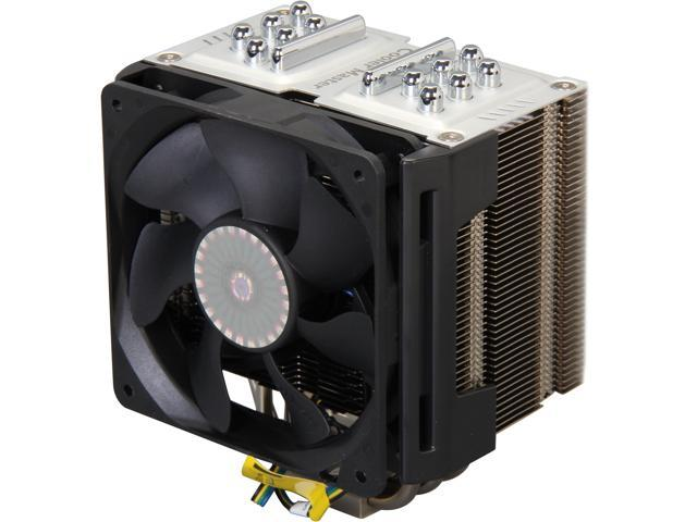 Cooler Master TPC 812 - High Performance CPU Cooler with 2 Vapor Chambers and 6 Heatpipes