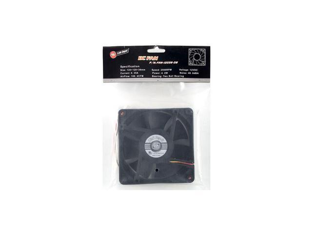 Link Depot FAN-12038-DB Case Cooling Fan