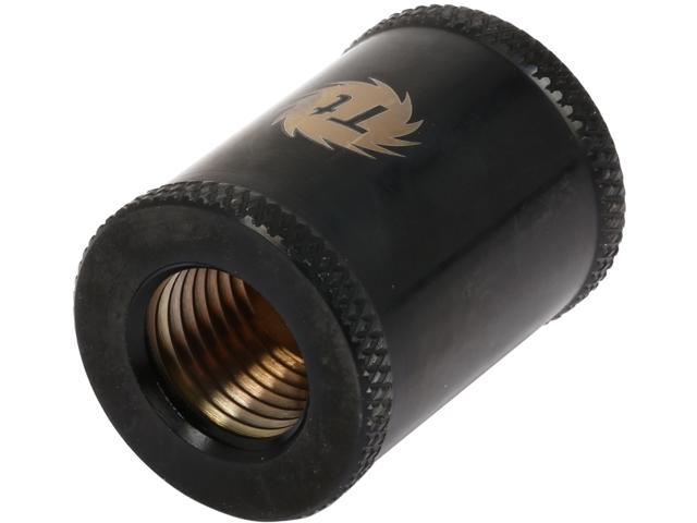 Thermaltake Pacific CL-W047-CU00BL-A Pacific DIY LCS Black G1/4 Female to Male 30mm Extender Fitting