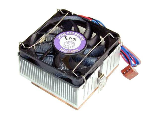 TAISOL CEK747092 60mm 2 Ball Cooling Fan