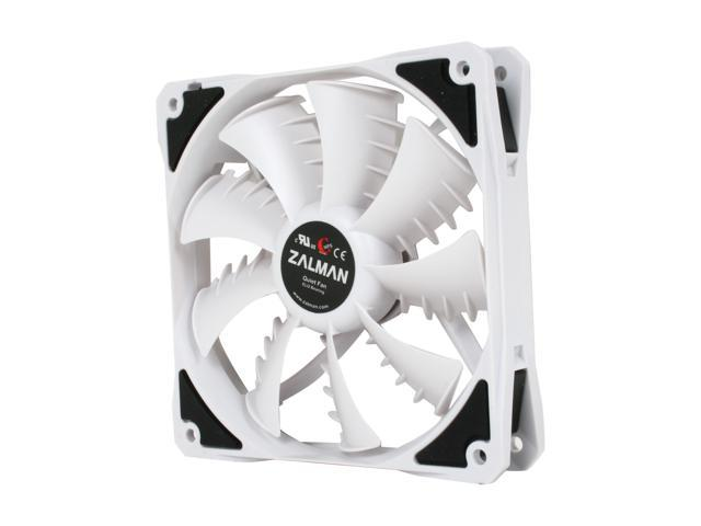 ZALMAN SF3 120mm Shark's Fin Blade ELQ (EverLasting Quiet) Bearing Case Fan