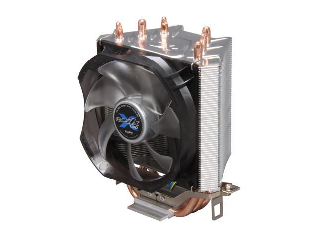 ZALMAN CNPS7X LED 92mm Long Life Bearing V-Shaped Dual Heatsink, Direct Touch Heatsink CPU Cooler