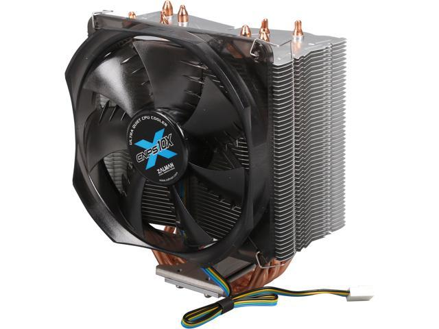 ZALMAN CNPS10X OPTIMA 120mm FSB (Fluid Shield Bearing) Shark's Fin Blade CPU Cooler (LGA 2011 version)