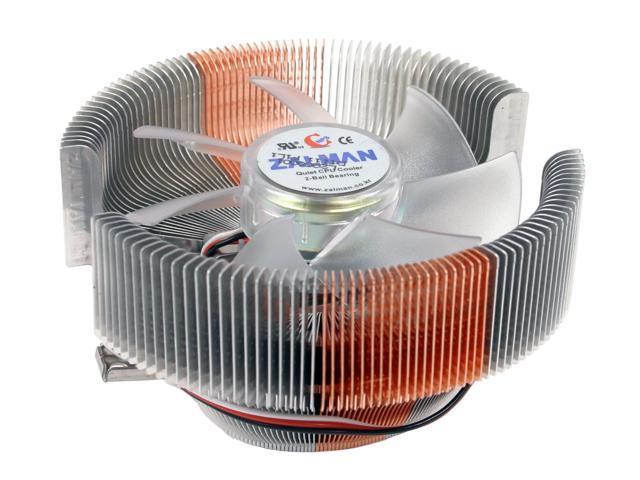 ZALMAN CNPS7000B-AlCu LED 2 Ball Cooling Fan