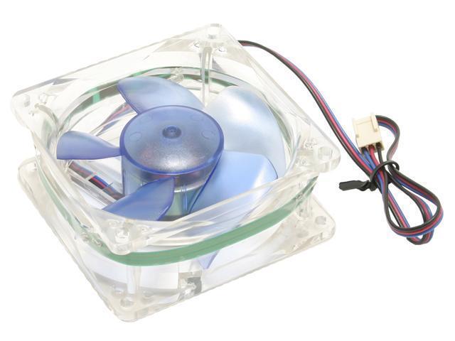 EVERCOOL CL8035/LD3 80mm Green LED Case Fan
