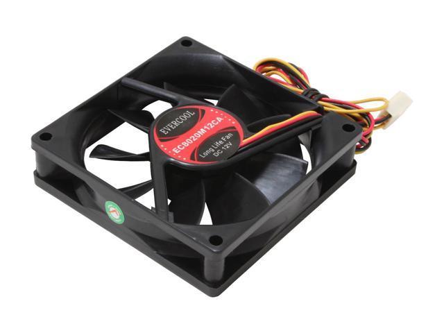 EVERCOOL FAN-EC8020M12CA 80mm Case Cooling Fan