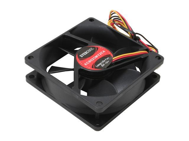 EVERCOOL FAN-EC8025M12CA 80mm Case Cooling Fan