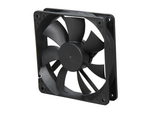 EVERCOOL  F-EC12025H12BP  120x120x25mm High Speed Double Ball Bearing Fan