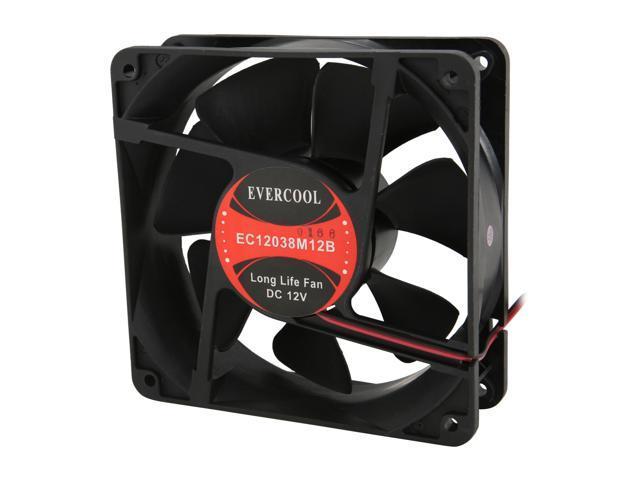 EVERCOOL EC-12038 Series FAN-EC12038M12B 120mm Case Cooling Fan