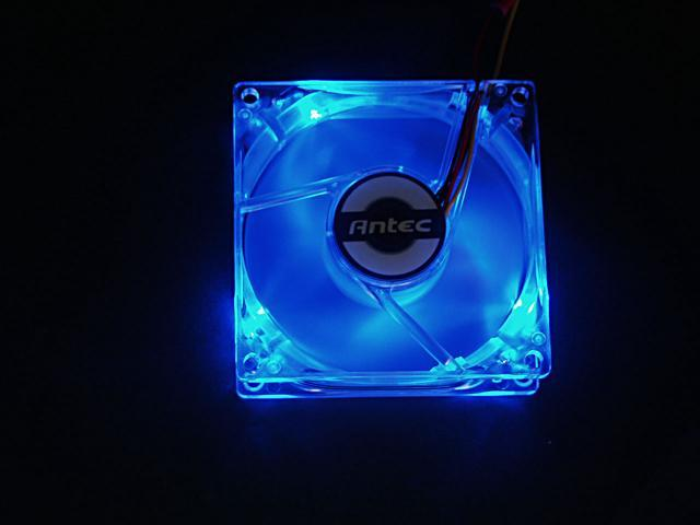 Antec LED80XFAN 80mm Blue LED Case Cooling Fan