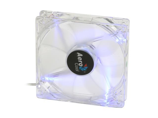 AeroCool LightWave 120mm Blue LED Case cooler
