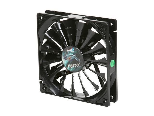 AeroCool Shark 120mm Black Edition 120mm Case cooler