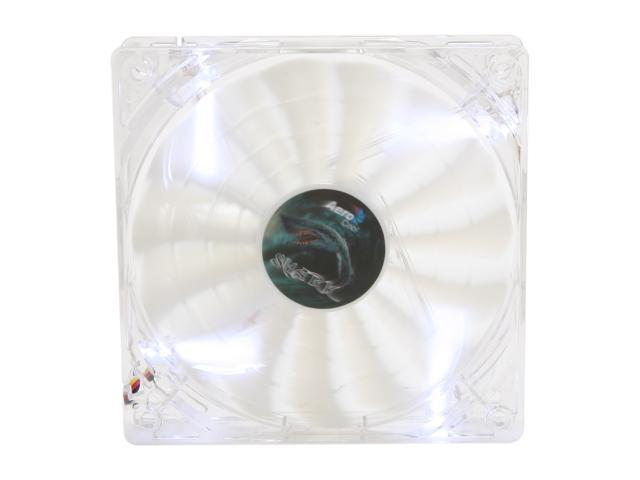 AeroCool Shark Fan 12cm White Edition 120mm Case Fan