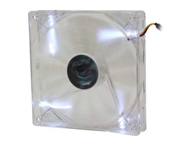 AeroCool Shark 140mm White, White LED Case Fan