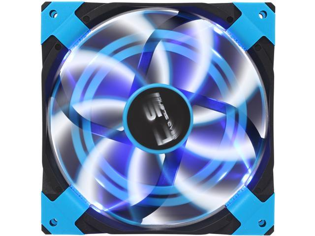 AeroCool DS 140mm Blue 140mm Patented Dual layered blades with noise and shock reduction frame