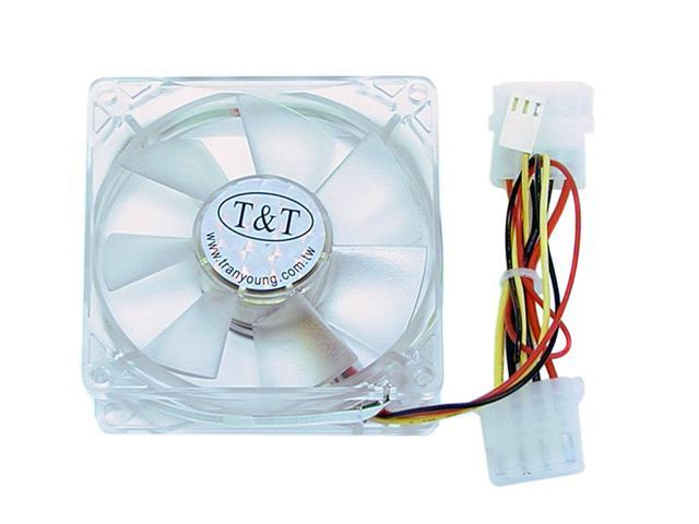 COOLMAX CM-825-4B Transparent Case Cooling Fan