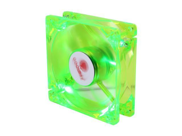 COOLMAX CMF-825-GN UV Crystal LED Cooling Case Fan